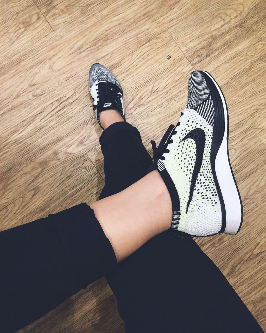 Nike Flyknit Racer Orca Volt | Nike
