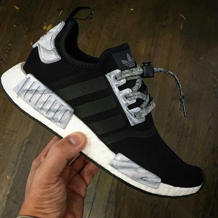adidas, nmd r1, scarpe, scarpe, scarpe da ginnastica, calcio, sogliola, adidas