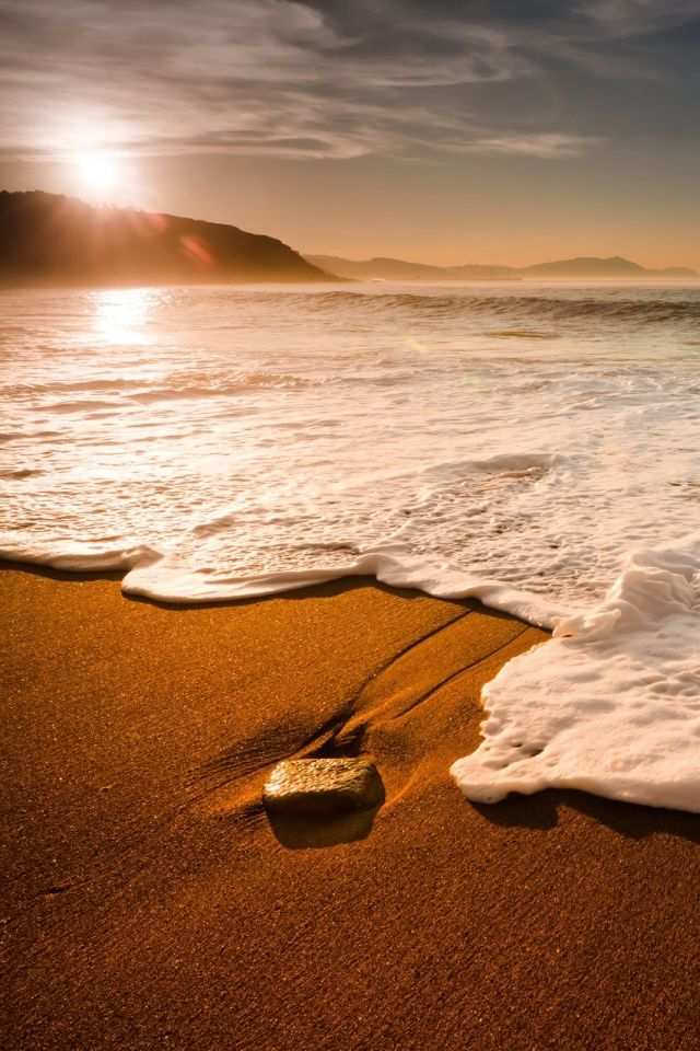 Landscapes Beach Mobile Wallpaper Mobiles Wall In 2019