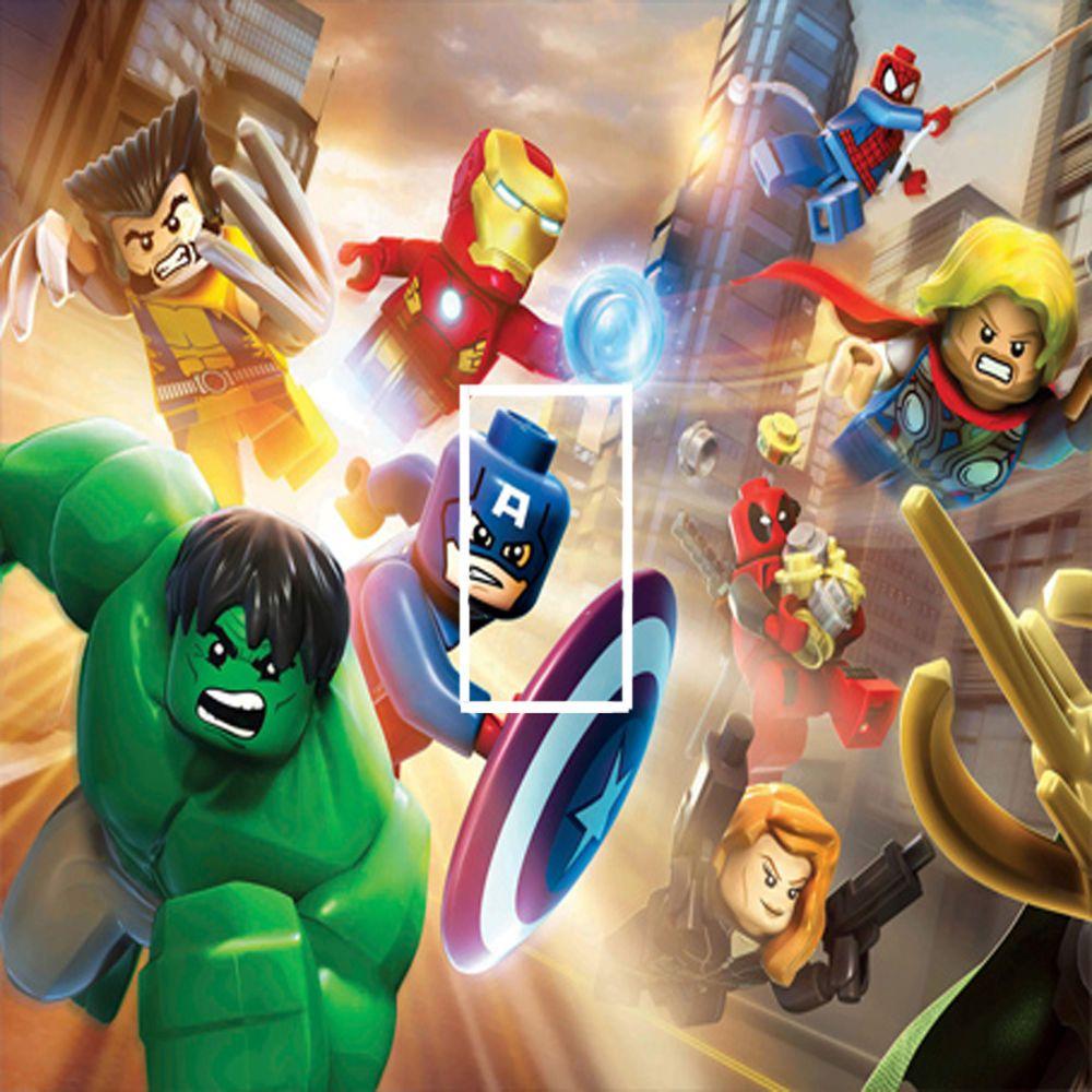 Marvel Bedroom Marvel Avengers Lego Hulk Light Switch Sticker Kids Bedroom 116