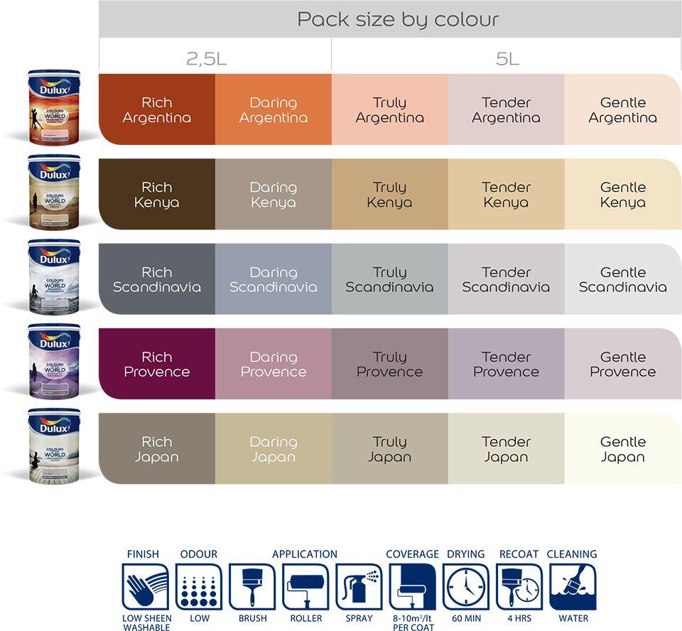 Dulux Colours Of The World Dulux Colour World Of Color Dulux