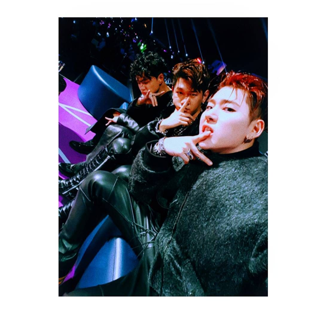 161219 Zico IG update with Crush and Dean