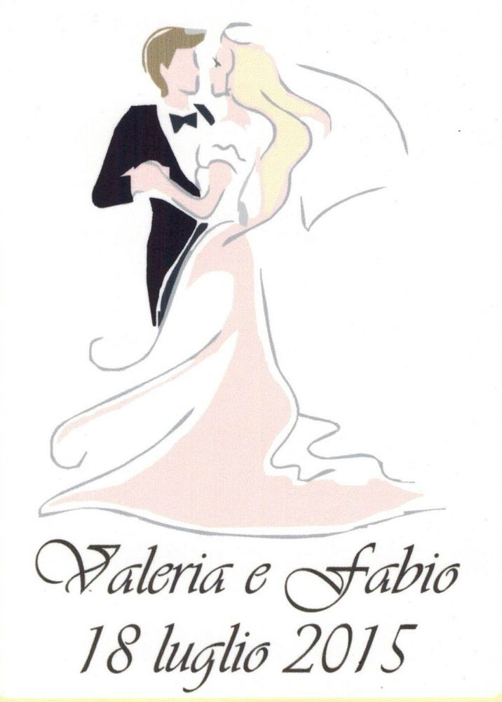 Bomboniere Matrimonio Koln.Dettagli Su 100 Etichette Per Bomboniere Sigilli Bollini