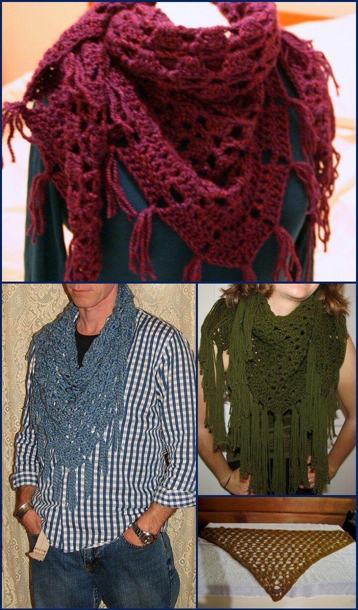 100 Free Crochet Shawl Patterns - Free Crochet Patterns - Page 10 of ...