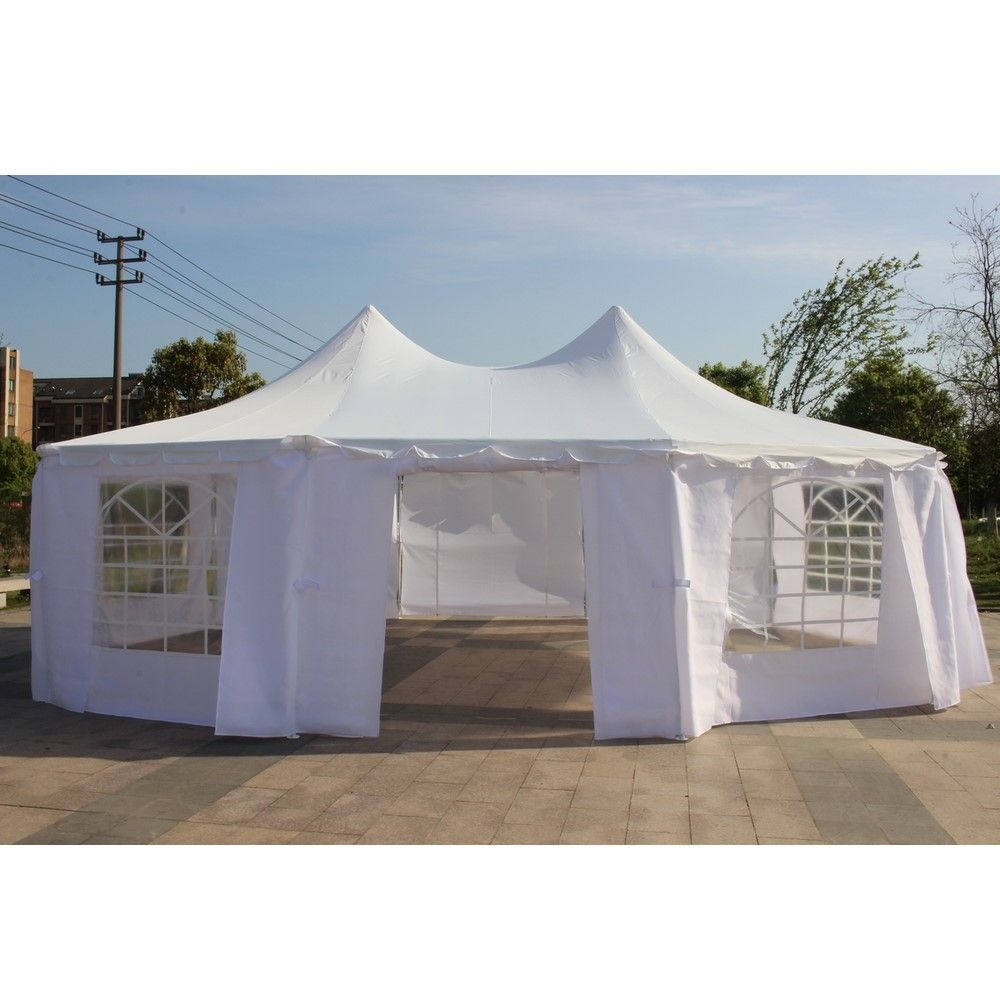 Costway 10 X20 Canopy Pavilion Cater Events Outdoor Party Wedding Tent Canopy Tent Outdoor Canopy Outdoor Outdoor Lighting