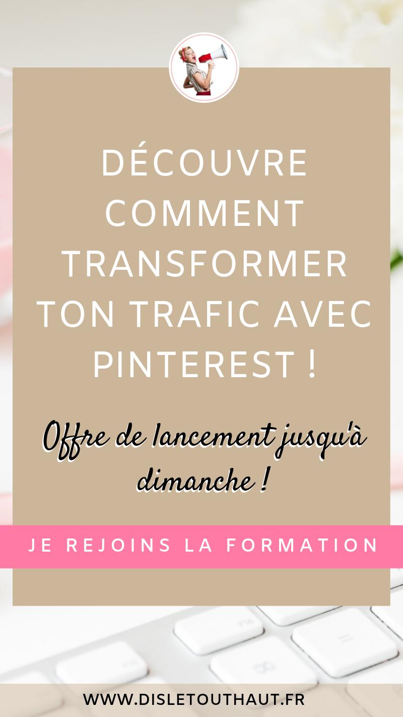 Augmenter Le Trafic De Son Blog Et Avoir Plus De Visiteurs Sur Son Site Web Pinterest Est La Solution Pou Astuce Pinterest Gagner De L Argent Entrepreneuriat