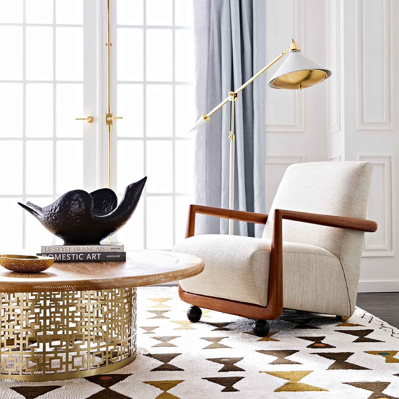 Jonathan Adler Maxime Task Floor Lamp | Lamps | Decor ...