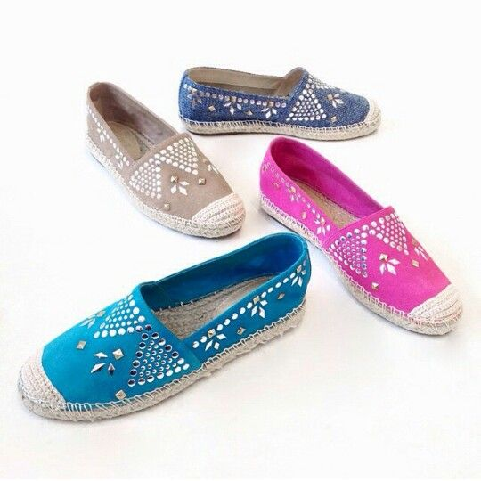 Maybe I Can Stud Some Plain Espadrilles To Take Them Up A