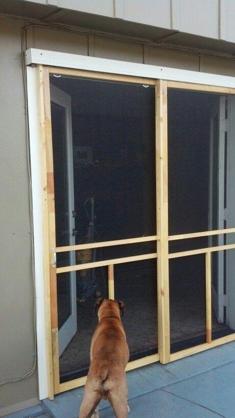 Sliding Screen Door For French Doors Sliding Screen Doors Diy