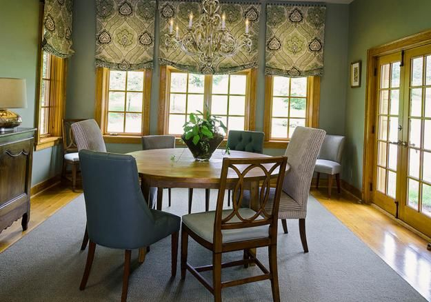 Relax Roman Shades  Window Treatment Ideas For Dining Room Best Dining Room Window Treatments Inspiration
