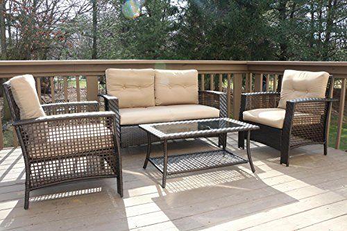51 5 Wx 25 D X 34 5 H Sofa 2 30 W X 25 D X 34 5 H Chair 36 X 20 Table Deep Seats High Ba Outdoor Sofa Sets