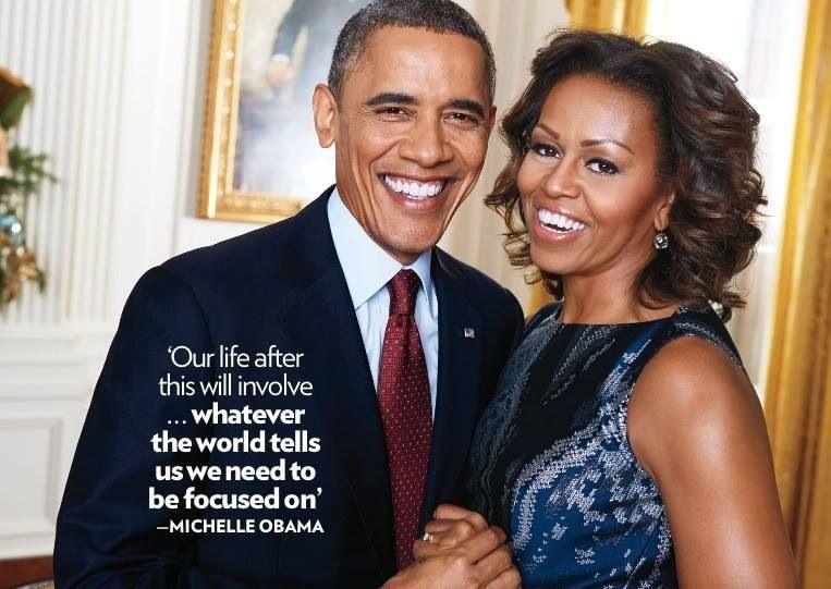 President Barack Obama & First Lady Michelle Obama. <3