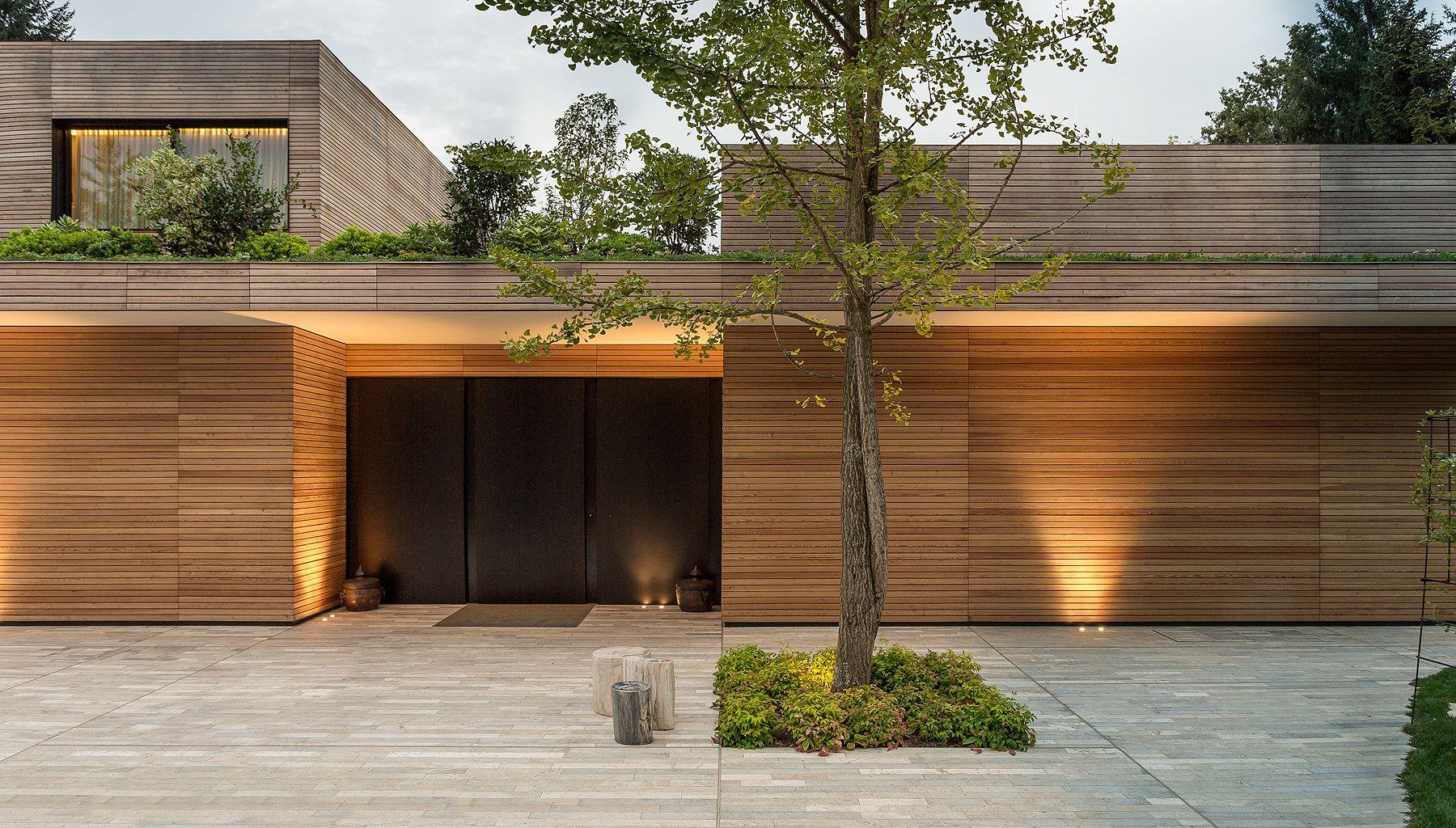Casa Prefabbricata Design : Villa in legno e casa di design casa prefabbricata in legno