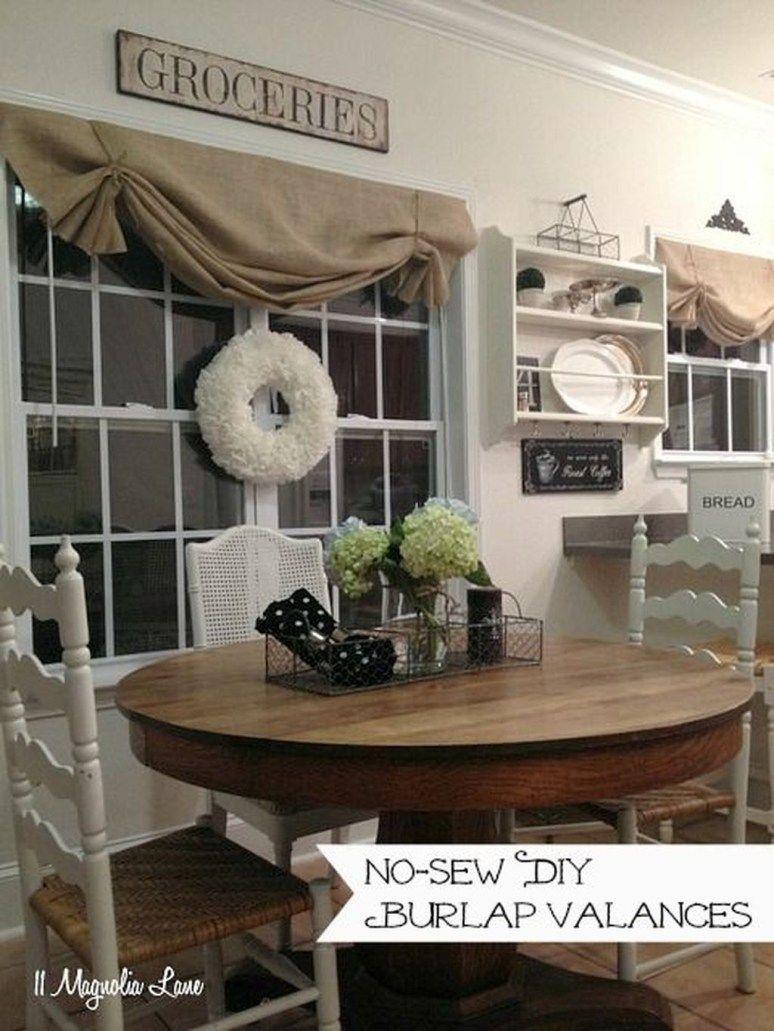 30+ Lovely Farmhouse Living Room Curtains Ideas | home ... on Farmhouse Curtain Ideas For Living Room  id=18280