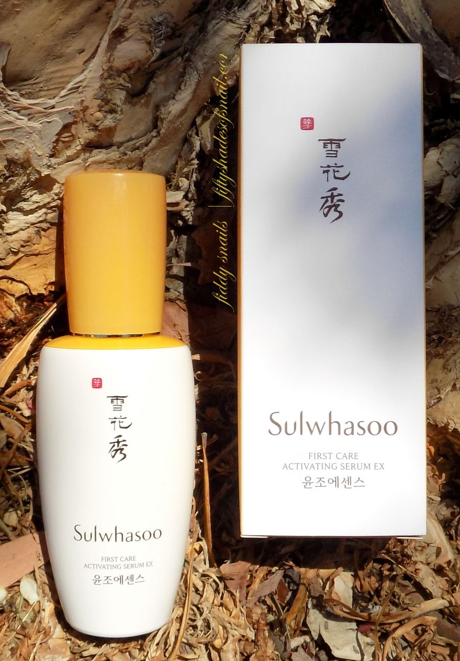 Sulwhasoo First Care Activating Serum EX review in 2019