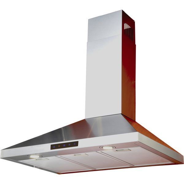 You 39 Ll Love The 30 Amp Quot 412 Cfm Ducted Wall Mount Range Hood At Wayfair Gre Stainless Steel Range Hood Stainless Steel Range Kitchen Bath Collection
