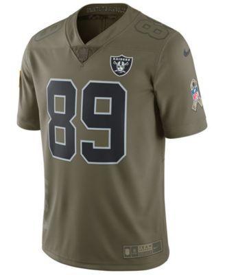 ee2ac907485 Nike Men's Amari Cooper Oakland Raiders Salute To Service Jersey - Green M