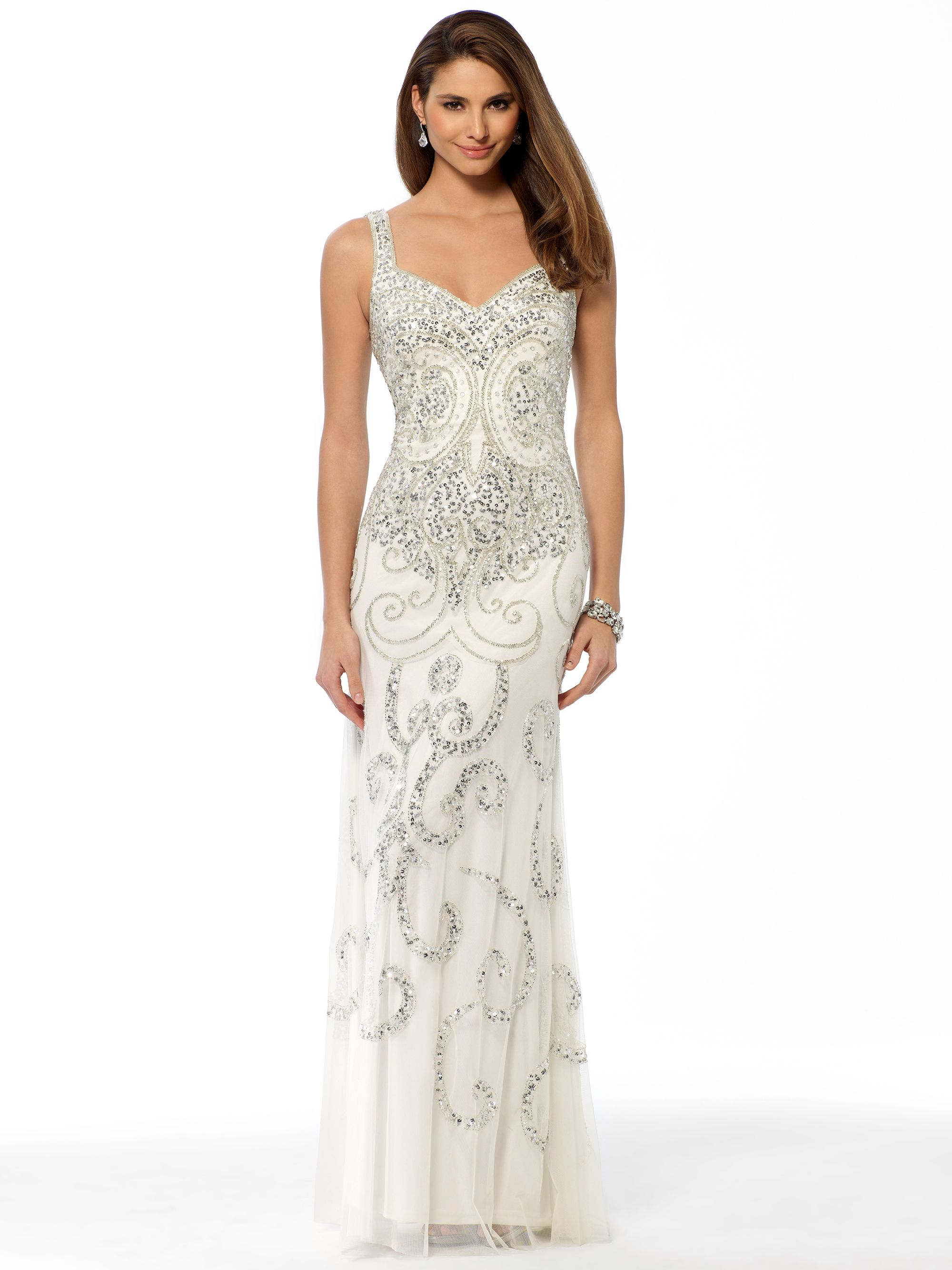 The first thing I think when I see this Cache gown is 'princess ...