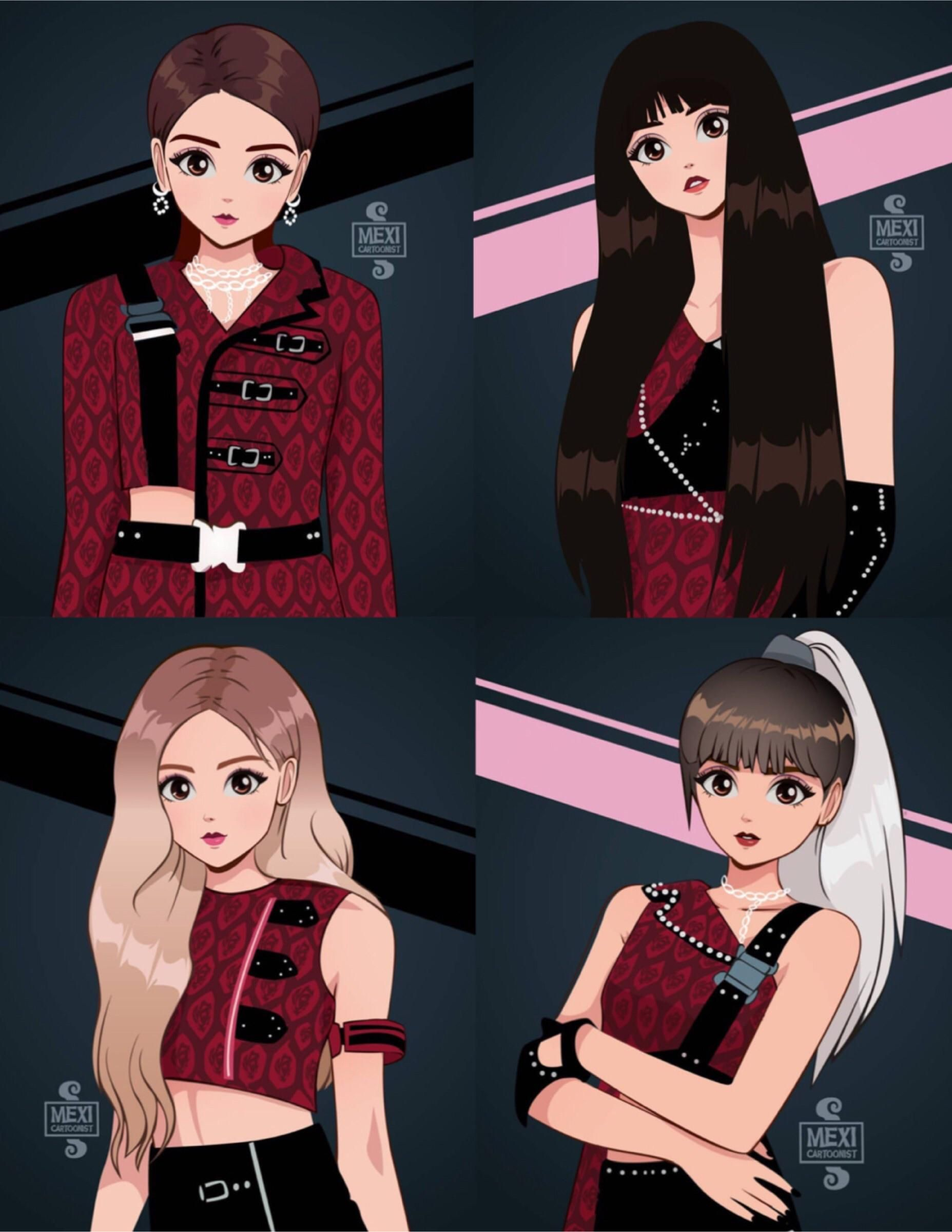190405 BLACKPINK Kill This Love art done by