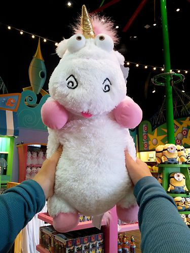details about despicable me unicorn plush it 39 s so fluffy agnes 26 xlarge very soft new. Black Bedroom Furniture Sets. Home Design Ideas