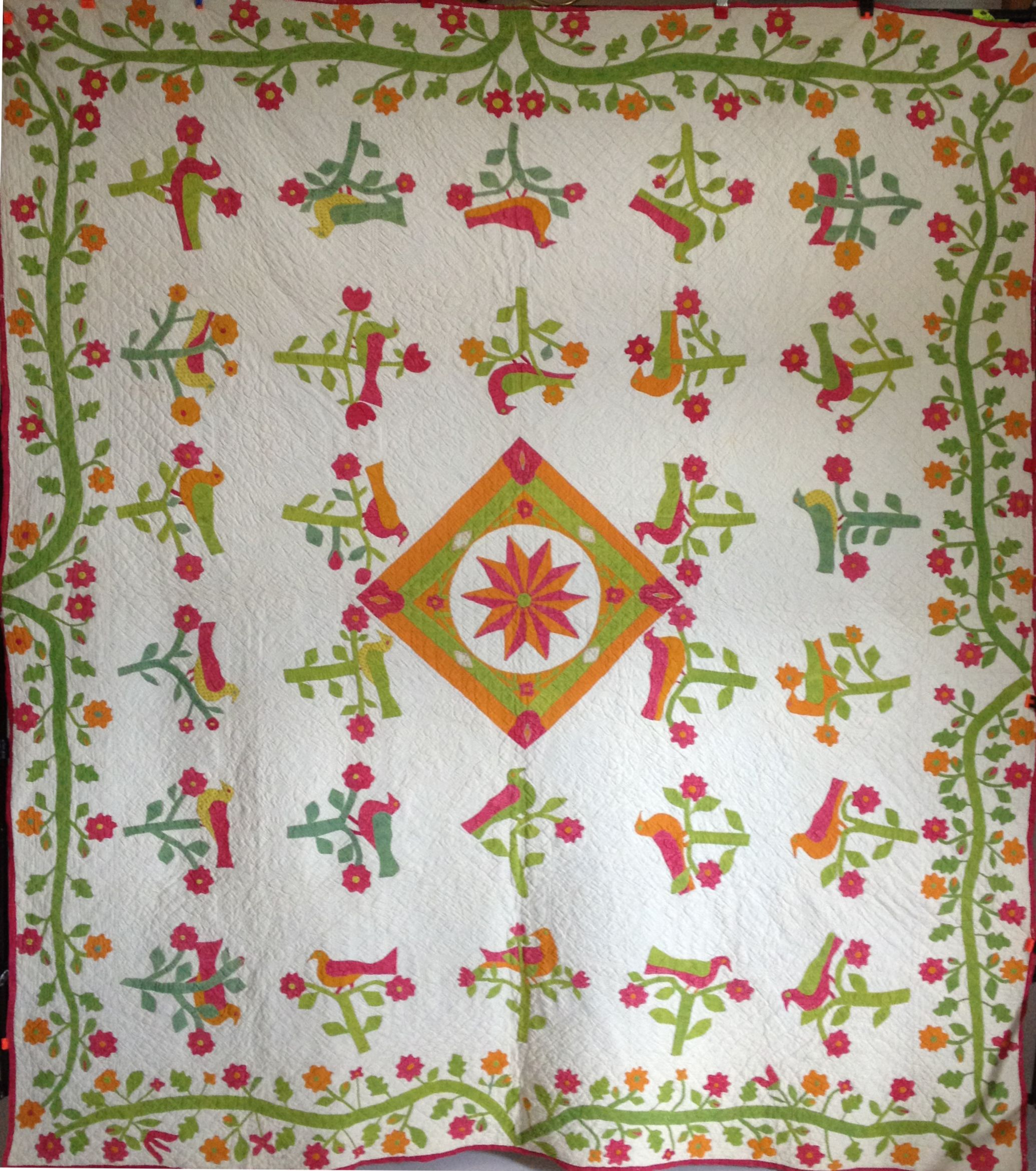 The Cousin's Walk - BOM at The Quilted Crow in Tasmania   Appliqué ... : the quilted crow - Adamdwight.com