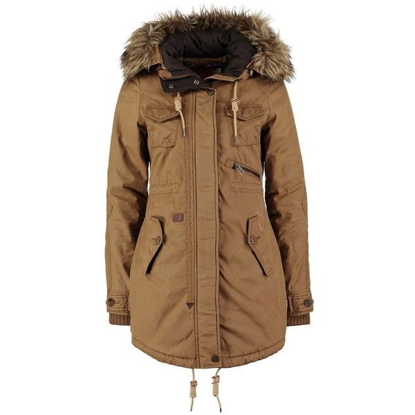 khujo STEEL Parka ($93) ❤ liked on Polyvore featuring outerwear ...