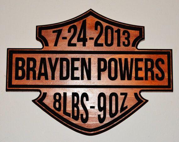 Harley Davidson Baby Name Birthdate Weight Sign