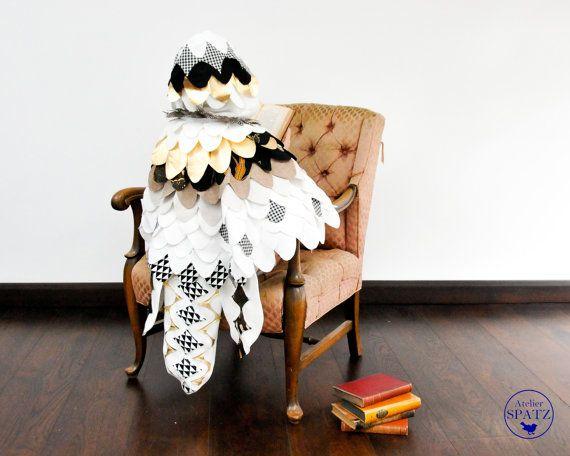 Harry Potter Hedwig Costume | White Owl Costume | Snow Owl | Bird ...