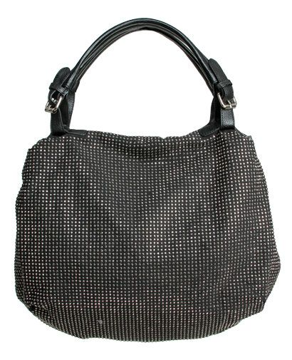 Studded Hobo Bag - Accessories