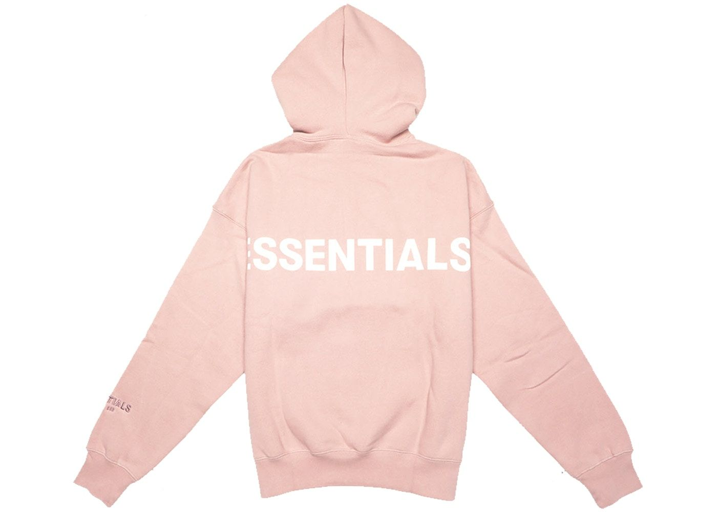 Fear Of God Essentials Pink 3m Logo Pullover Hoodie Blush In 2021 Hoodies Pullover Hoodie Pullover [ 1000 x 1400 Pixel ]