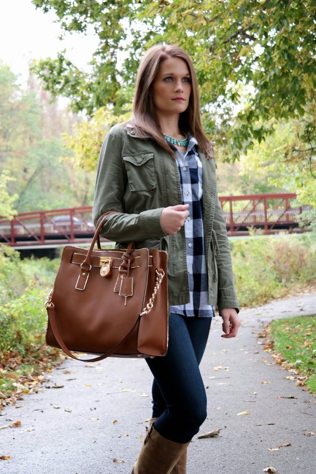 Regally Soled: Plaid in the Park