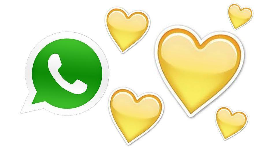 Whatsapp Esto Significa El Emoji Del Corazon Amarillo Y No Lo