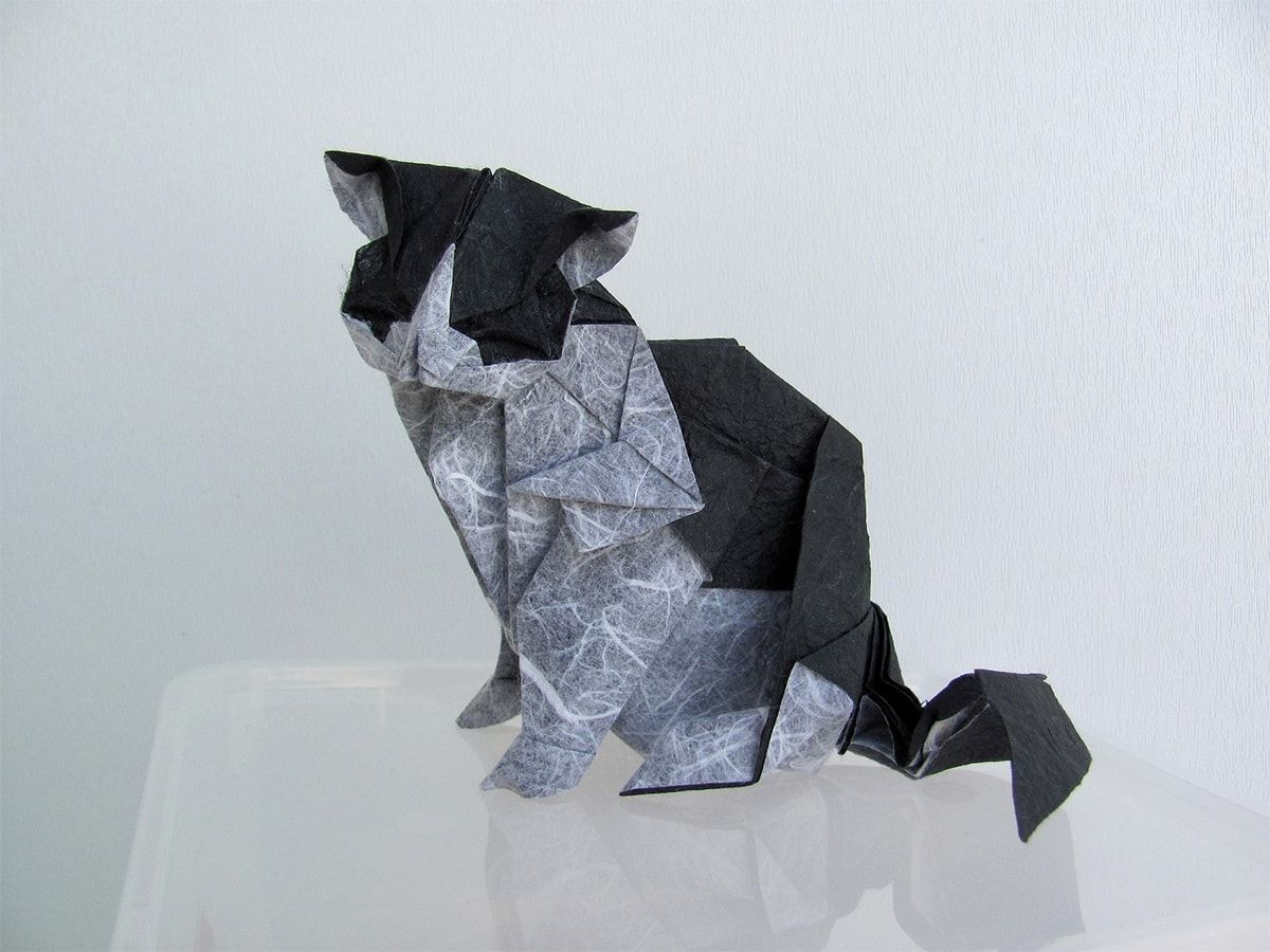 25 Purr Fect Origami Cats Fur Real I M Not Kitten Catsdiydrawing Origami Cat Origami Cat Face Origami Tutorial