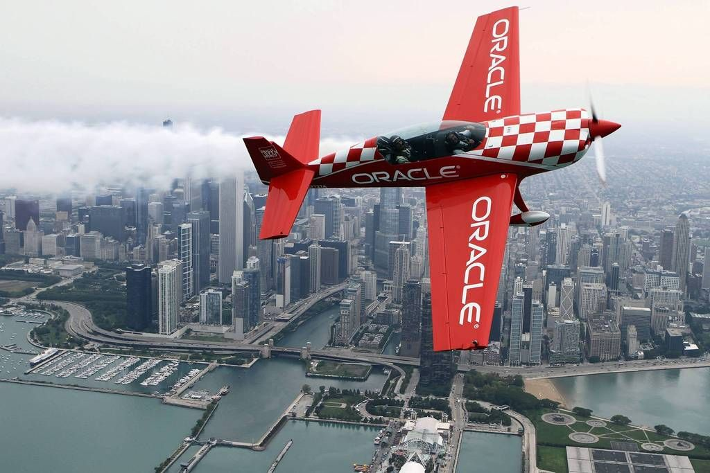 Media preview day for the Chicago Air & Water Show