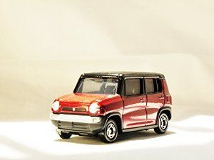 TAKARA TOMY TOMICA Street Car JAPAN SUZUKI HUSTLER 75 Initial Version Vehicle Diecast Dark Red Color