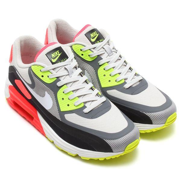 size 40 c73ce 26674 Nike Air Max Lunar 90 WR - Light Ash GreyWhiteBlackLazer Crimson  sneakers