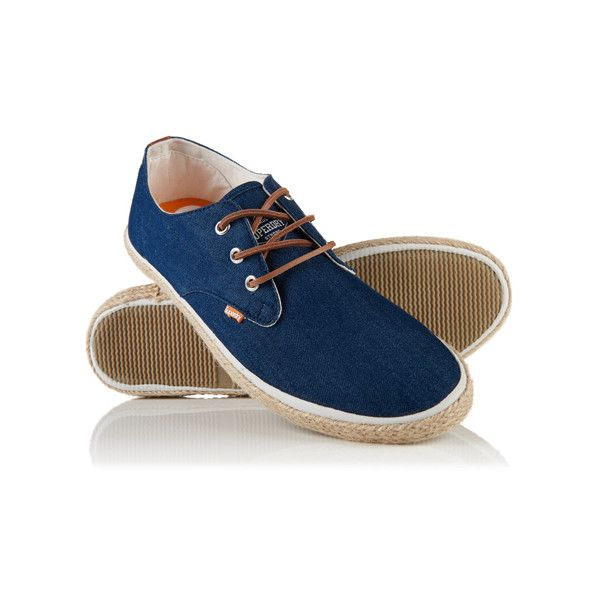 Shop Superdry Mens Skipper Shoes in Raw Denim. Buy now with free delivery  from the Official Superdry Store.