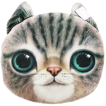 Cat Cushion - Assorted | Gifts - New In! at The Works ONLY £5