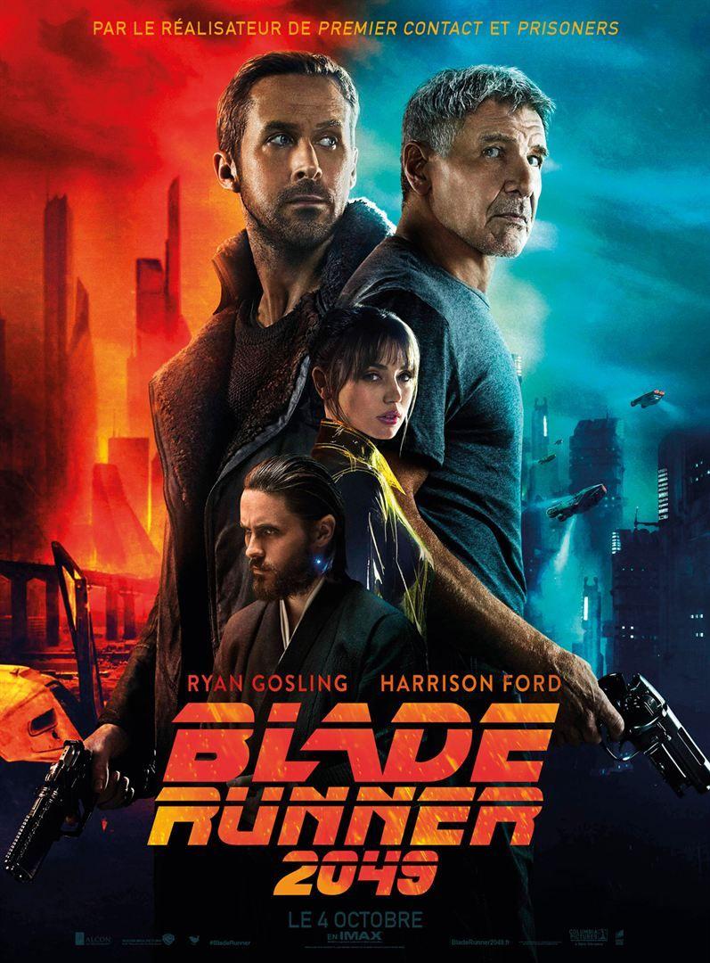 Blade Runner 2049 De Denis Villeneuve Miss Bobby Affiche Film Denis Villeneuve Film Francais