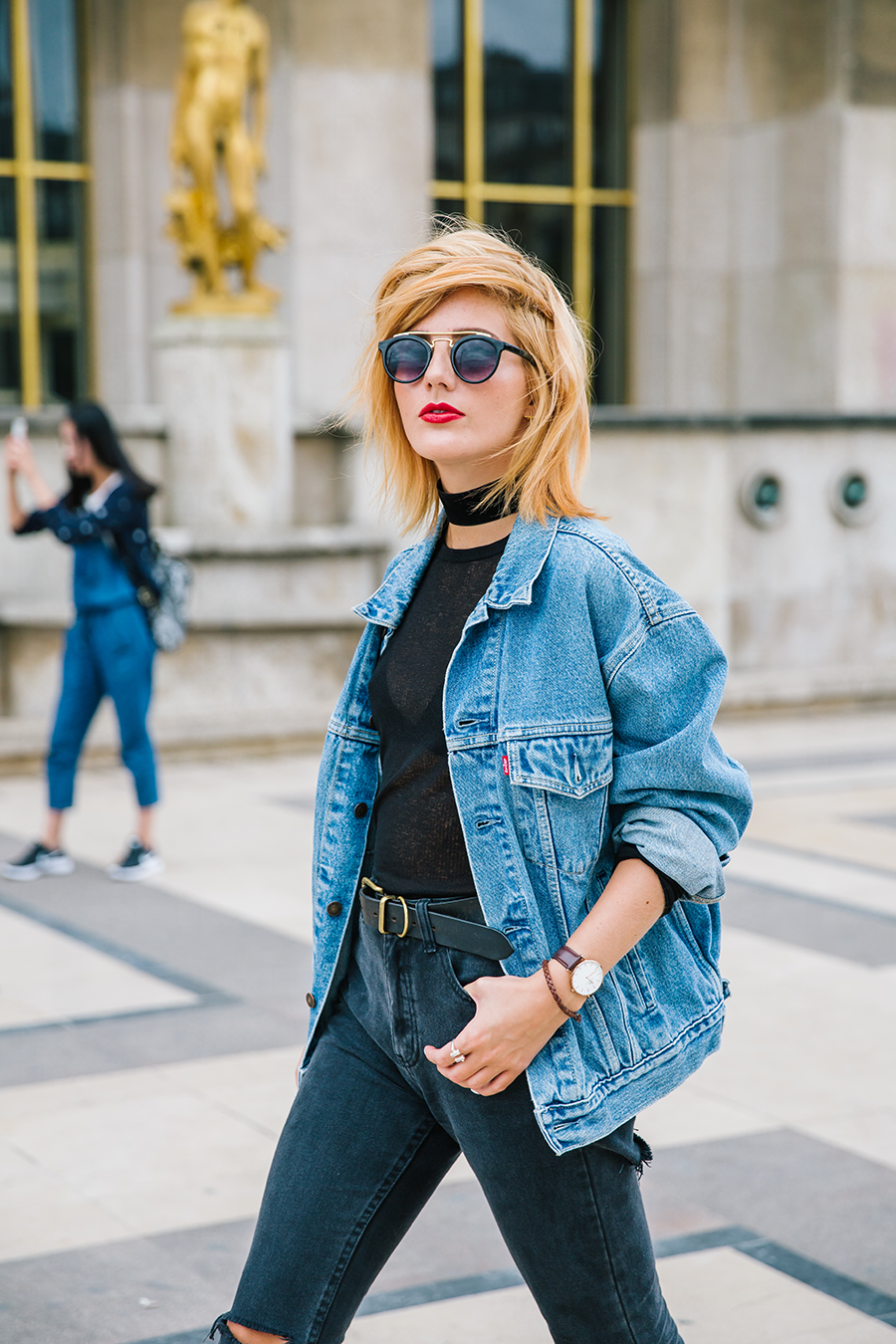 THE DENIM JACKET. How to style the Levi's vintage denim jacket on ...