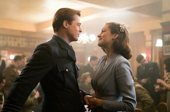 Brad e Marion Cotillard vivem um casal de espiões durante a Segunda Guerra Mundial no longa-metragem 'Aliados' (Foto: Reprodução)