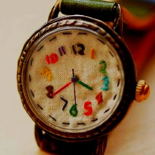 Hand crafted watch