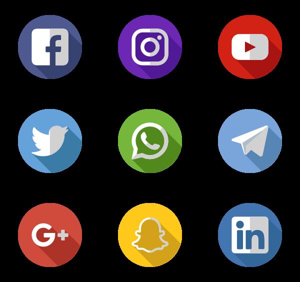 30 Icon Packs Of Social Media Icon Pack Icones Reseaux Sociaux Image Personnage Telecharger Logiciel Gratuit