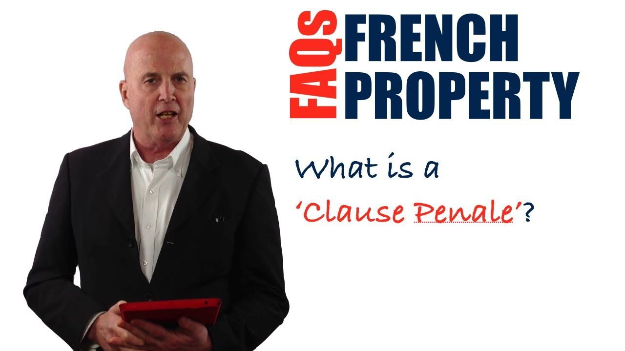 In this video, you'll discover what a 'Clause Penale' is in a French property transaction and how it could impact you both legally and financially