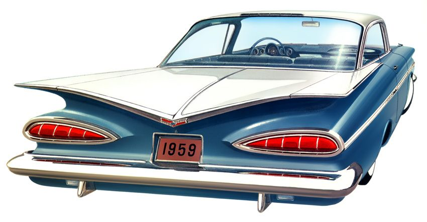 1959 Chevrolet Impala First Car I Ever Had A Date In Loved The