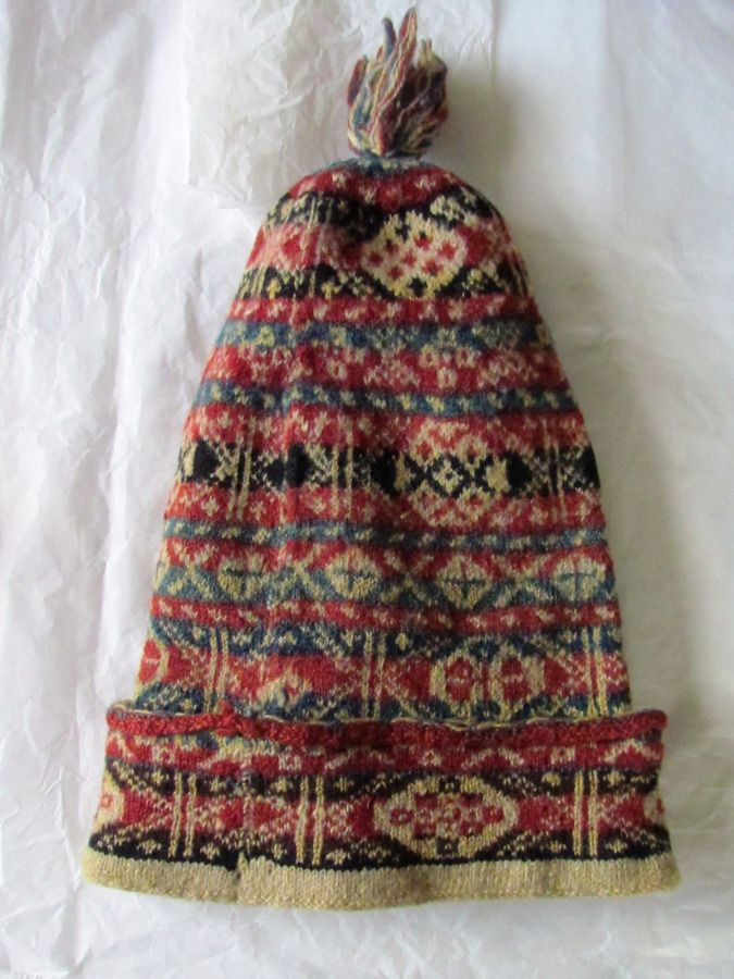 Original Fair Isle Cap | Fair isles, Museums and Cap