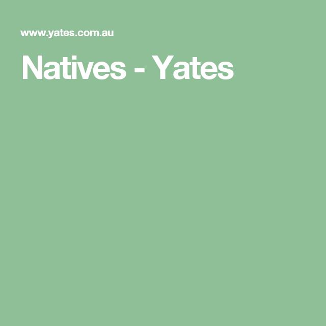 Natives - Yates