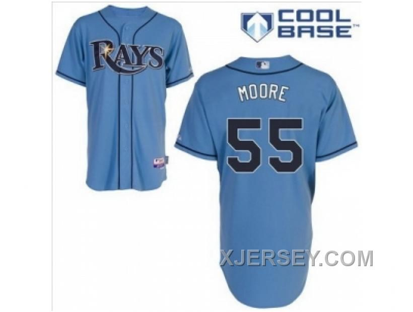 http://www.xjersey.com/new-mlb-tampa-bay-rays-55-moore-lt-bluecool-base.html NEW MLB TAMPA BAY RAYS #55 MOORE LT BLUE(COOL BASE) Only 32.17€ , Free Shipping!