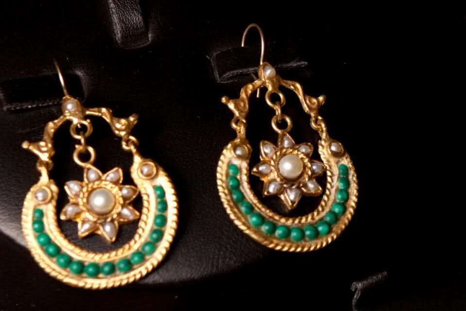 handcrafted ethnic jewelry | Stone Handmade Ethnic Jewelry Designs Kante_ear-wear. jpg (2)