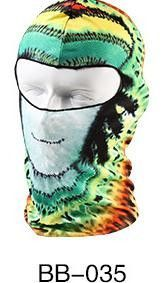 3D Full Face Skull Balaclava Headgear